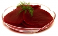Beets in slices